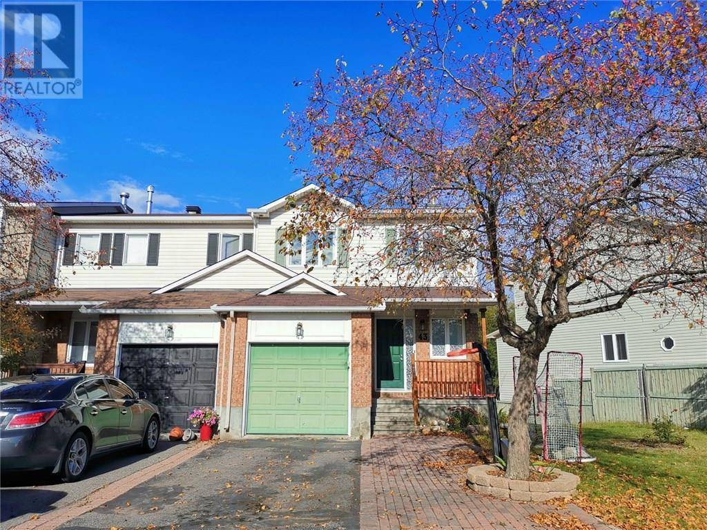 Townhouse for rent at 43 Helmsdale Dr Ottawa Ontario - MLS: 1173178