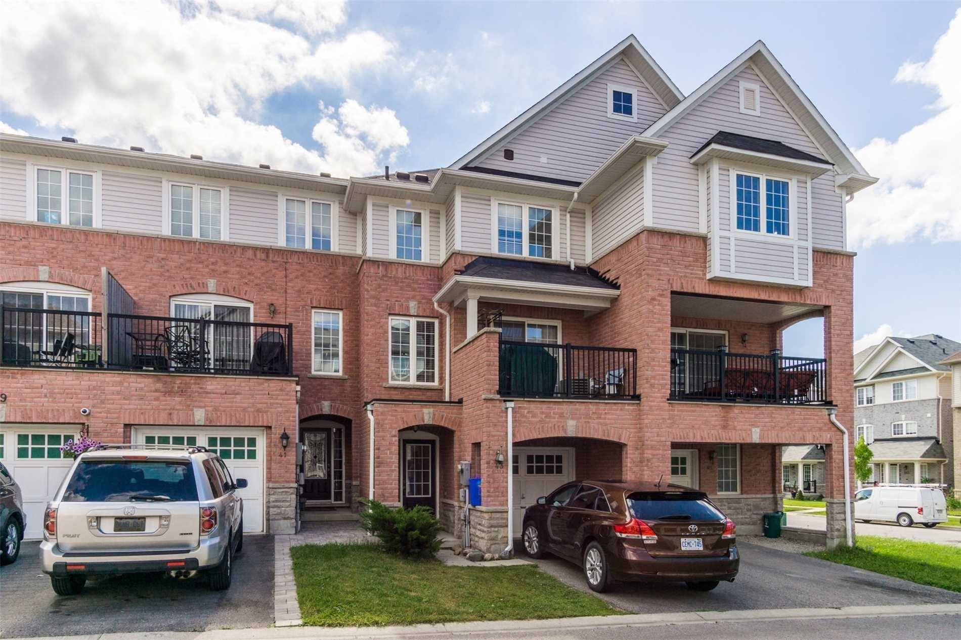 Townhouse for sale at 43 Hesketh Rd Ajax Ontario - MLS: E4521757