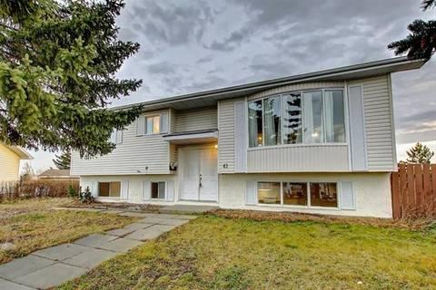 House for sale at 43 Huntstrom Pl Northeast Calgary Alberta - MLS: C4279399