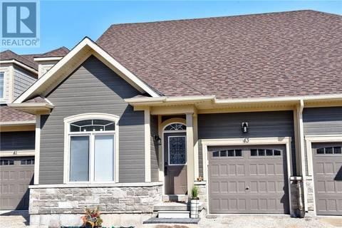 Home for sale at 43 Kari Cres Collingwood Ontario - MLS: 187763