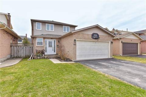 House for sale at 43 Merritt Cres Grimsby Ontario - MLS: H4053428