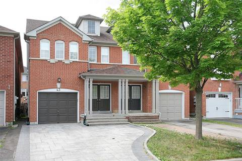 Townhouse for sale at 43 Sassafras Circ Vaughan Ontario - MLS: N4385657