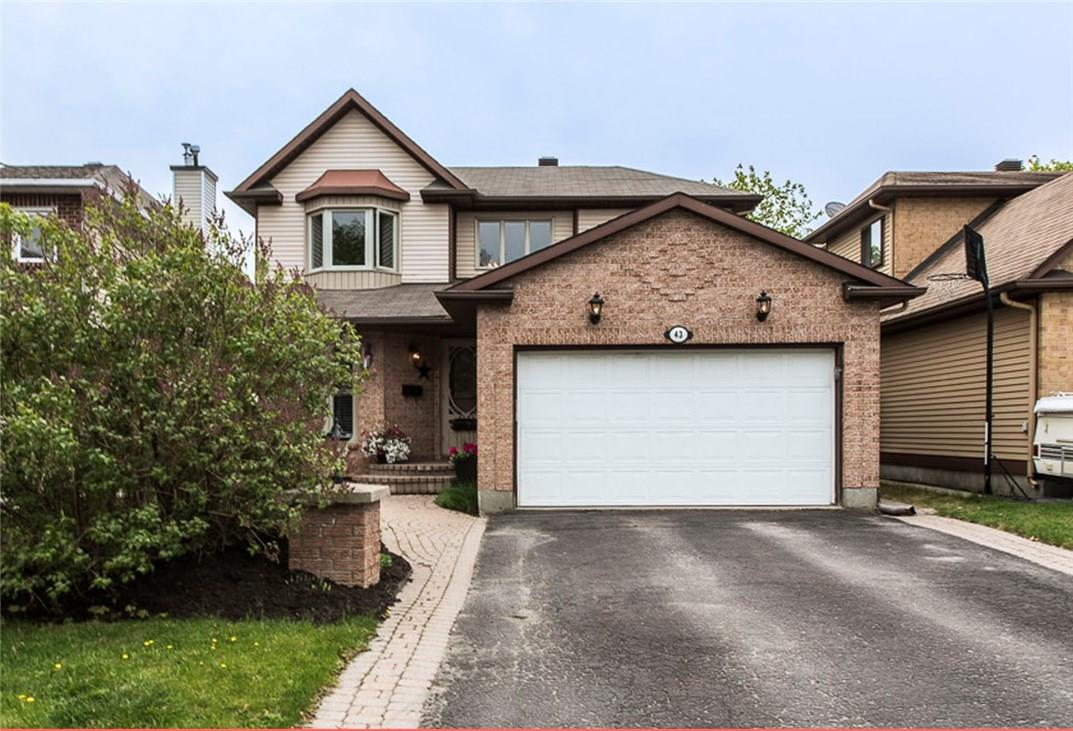 For Sale: 43 Stradwick Avenue, Ottawa, ON | 4 Bed, 4 Bath House for $449,900. See 25 photos!