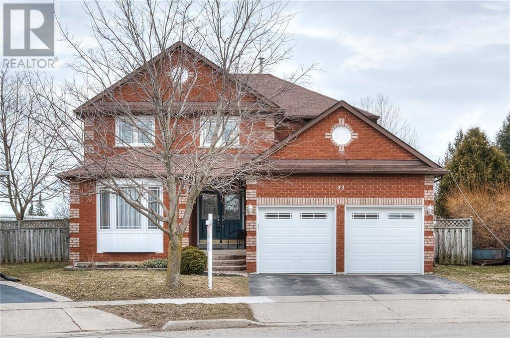 House for sale at 43 Tallowtree Pl Cambridge Ontario - MLS: 30799874