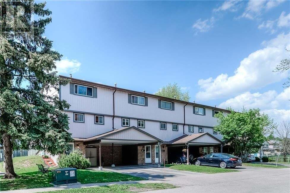 Townhouse for sale at 43 Thaler Ave Kitchener Ontario - MLS: 30809041