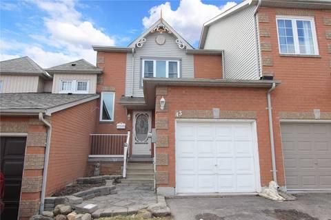 Townhouse for sale at 43 Trewin Ln Clarington Ontario - MLS: E4420031