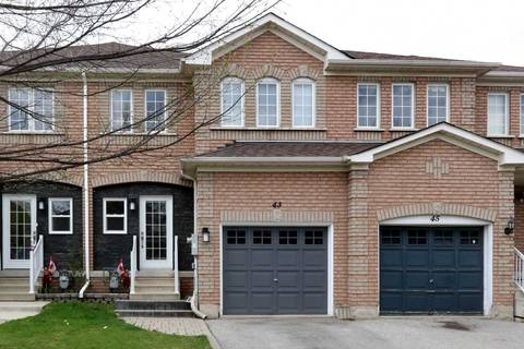 Townhouse for sale at 43 Twin Pines Cres Brampton Ontario - MLS: W4453099