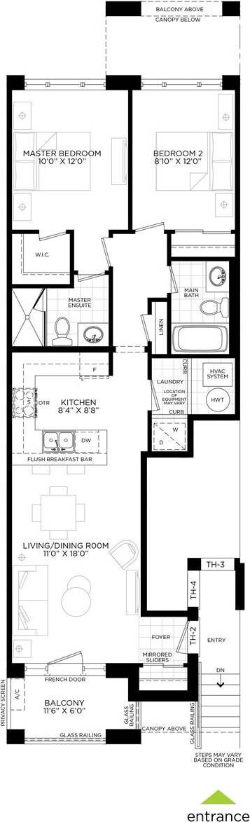 Condo for sale at 0 Ste 401, Model Th-2 Ln Whitchurch-stouffville Ontario - MLS: N4457443
