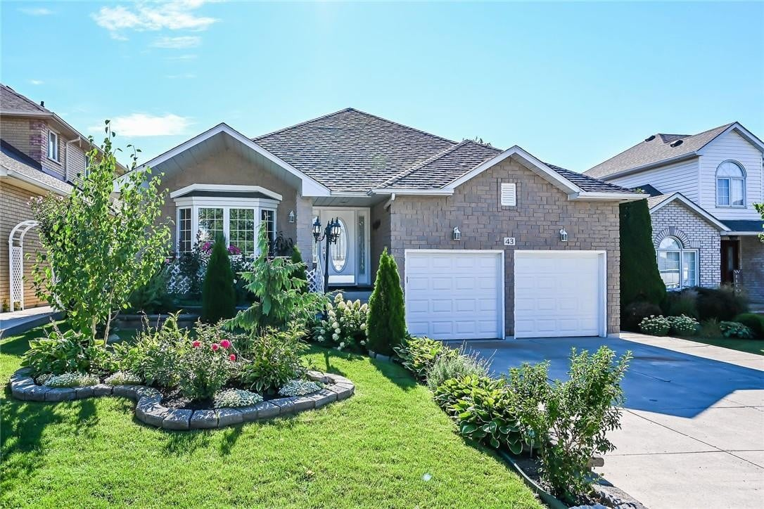 House for sale at 43 Westlawn Dr Hamilton Ontario - MLS: H4085243