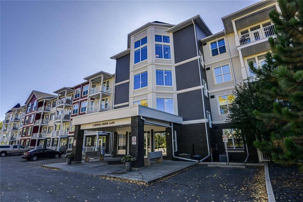 Condo for sale at 1 Crystal Green Ln Unit 430 Crystal Green, Okotoks Alberta - MLS: C4271278