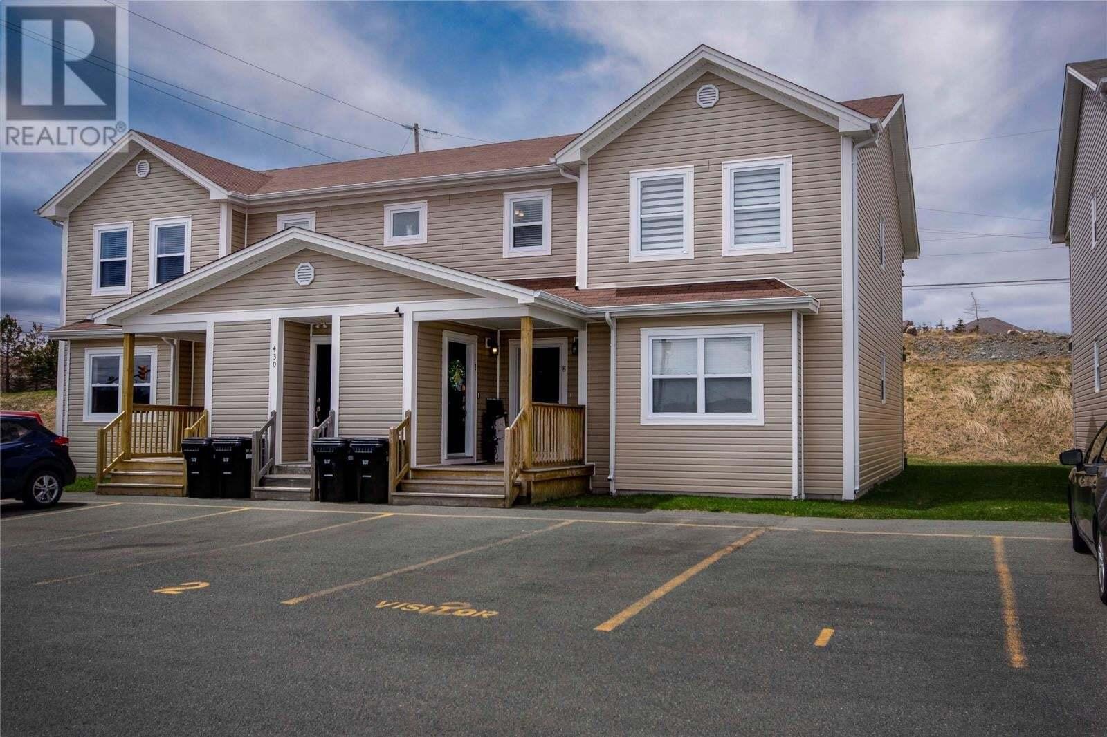 House for sale at 430 Blackmarsh Rd St. John's Newfoundland - MLS: 1214124