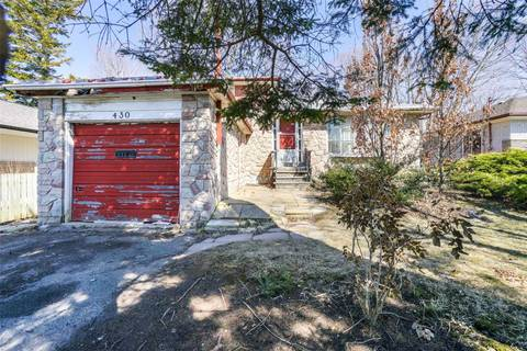 House for sale at 430 Guildwood Pkwy Toronto Ontario - MLS: E4418180