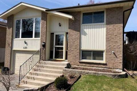 House for sale at 430 Paddington Cres Oshawa Ontario - MLS: E4420715