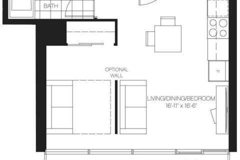 Apartment for rent at 50 Charles St Unit 4304 Toronto Ontario - MLS: C4997085