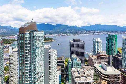 Condo for sale at 1151 Georgia St W Unit 4306 Vancouver British Columbia - MLS: R2434403