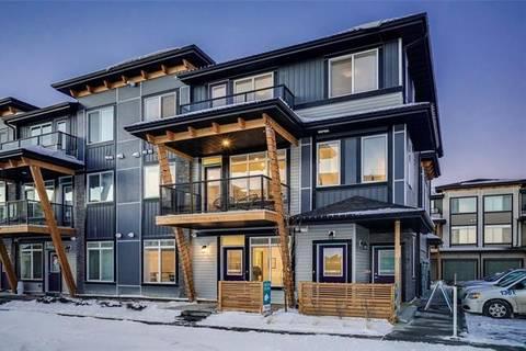 Townhouse for sale at 4307 Seton Dr Southeast Calgary Alberta - MLS: C4243537