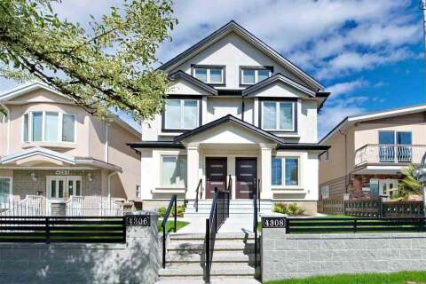 Townhouse for sale at 4308 Beatrice St Vancouver British Columbia - MLS: R2510193