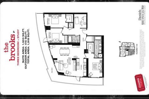 Apartment for rent at 21 Widmer St Unit 4310 Toronto Ontario - MLS: C4495634