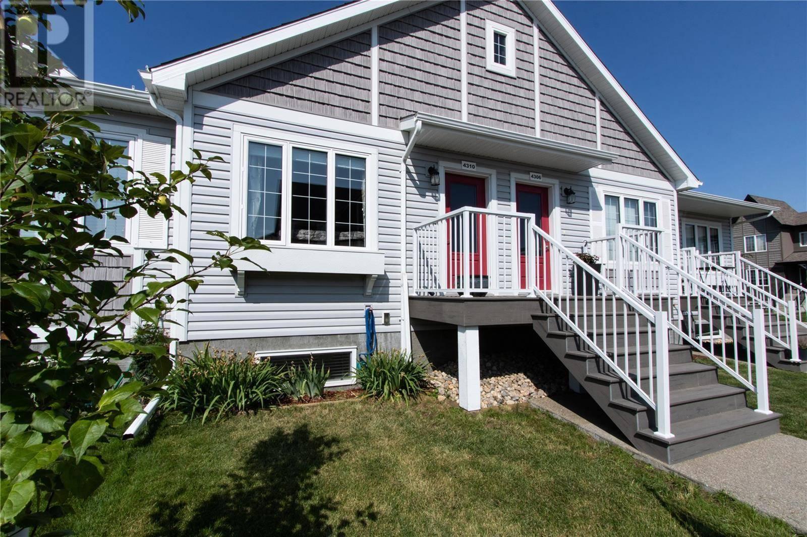 Townhouse for sale at 4310 Shaffer St Regina Saskatchewan - MLS: SK764068