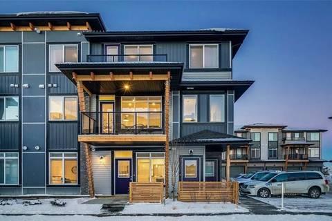 Townhouse for sale at 4311 Seton Dr Southeast Calgary Alberta - MLS: C4229133