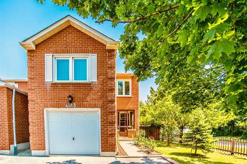 House for sale at 4313 Lee Dr Mississauga Ontario - MLS: W4549857