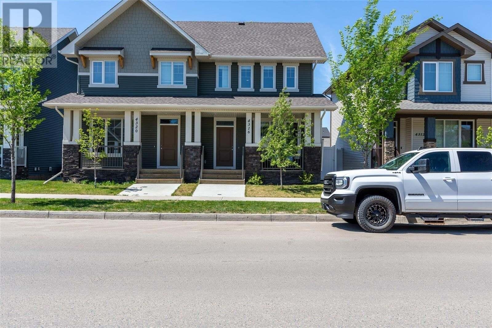 House for sale at 4316 James Hill Rd Regina Saskatchewan - MLS: SK810428