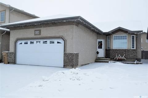 House for sale at 4318 Gusway St Regina Saskatchewan - MLS: SK798109
