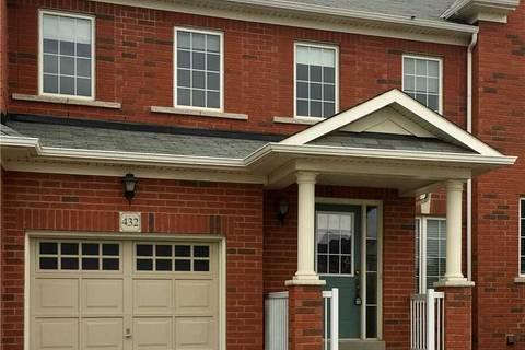 Townhouse for rent at 432 Savoline Blvd Milton Ontario - MLS: W4624035