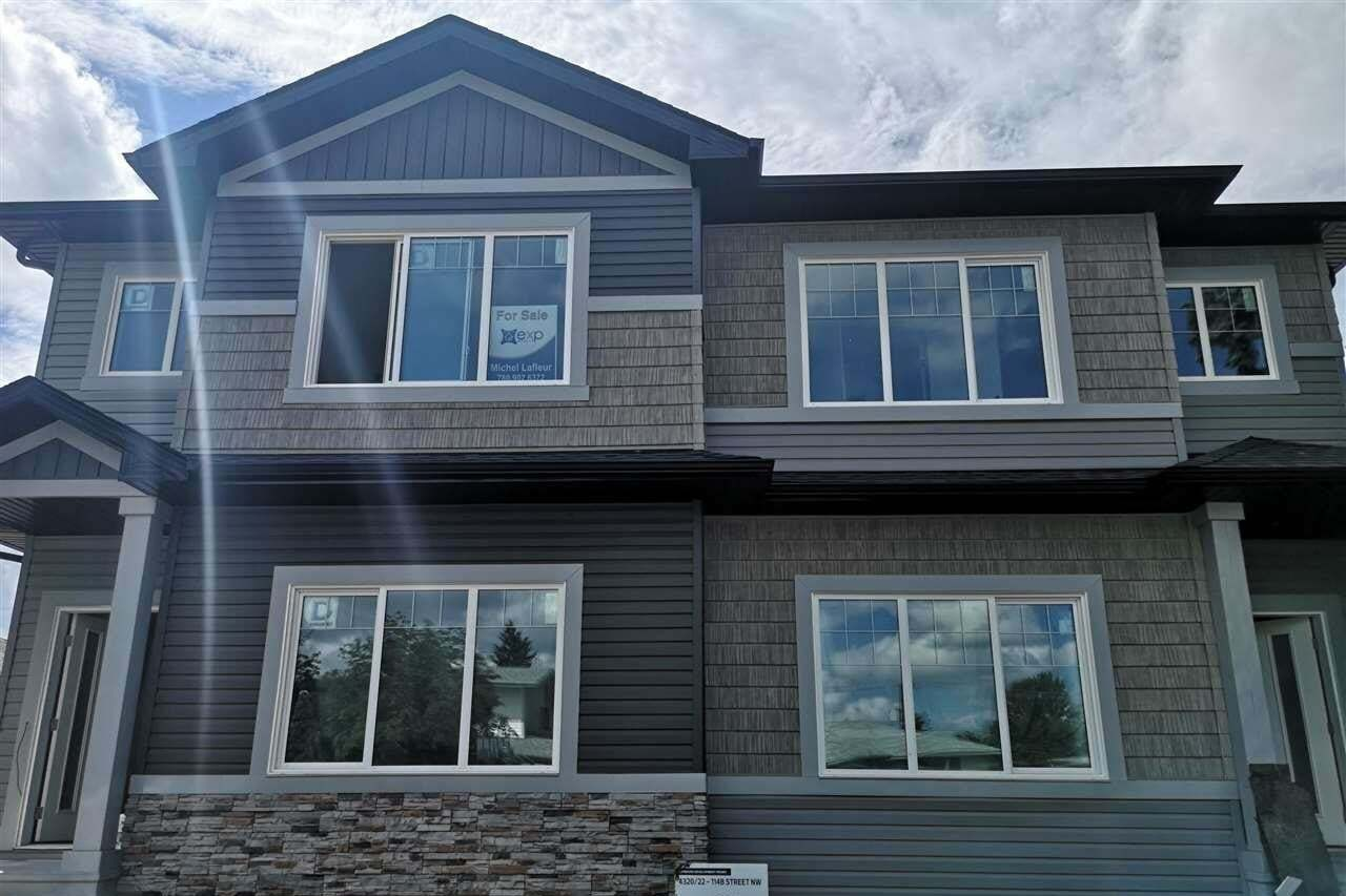 Townhouse for sale at 4320 114b St NW Edmonton Alberta - MLS: E4201346
