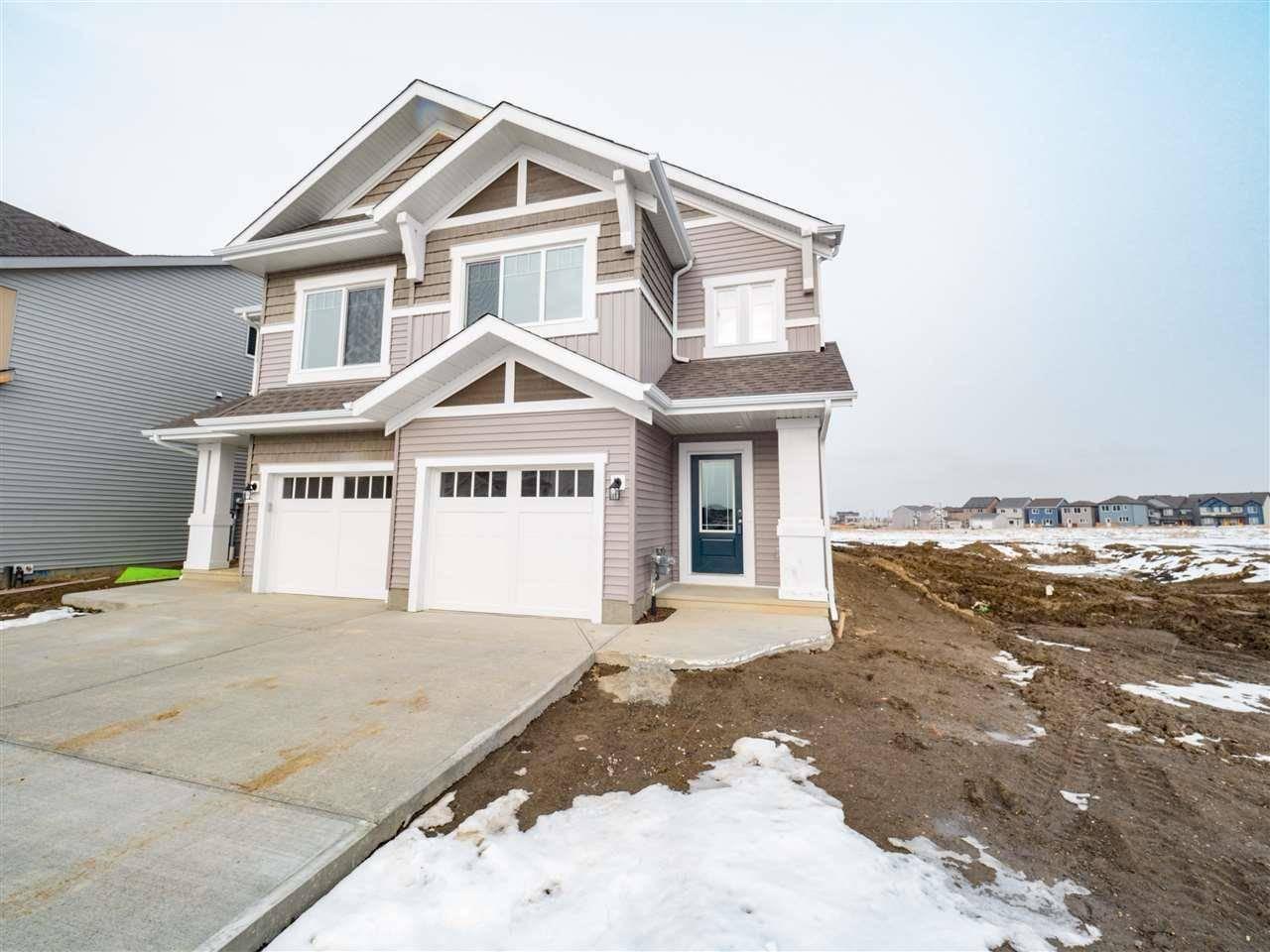 Townhouse for sale at 4322 Cooke Ln Sw Edmonton Alberta - MLS: E4180307