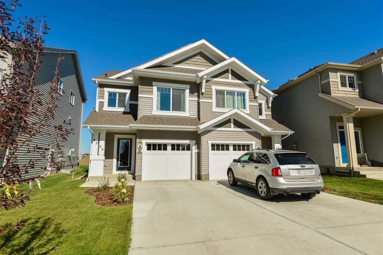Townhouse for sale at 4324 Cooke Ln SW Edmonton Alberta - MLS: E4214046