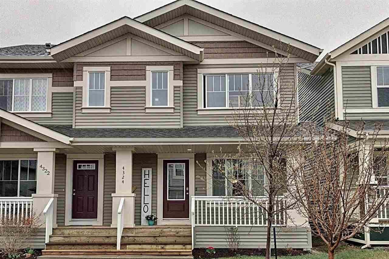 Townhouse for sale at 4324 Prowse Li SW Edmonton Alberta - MLS: E4196595