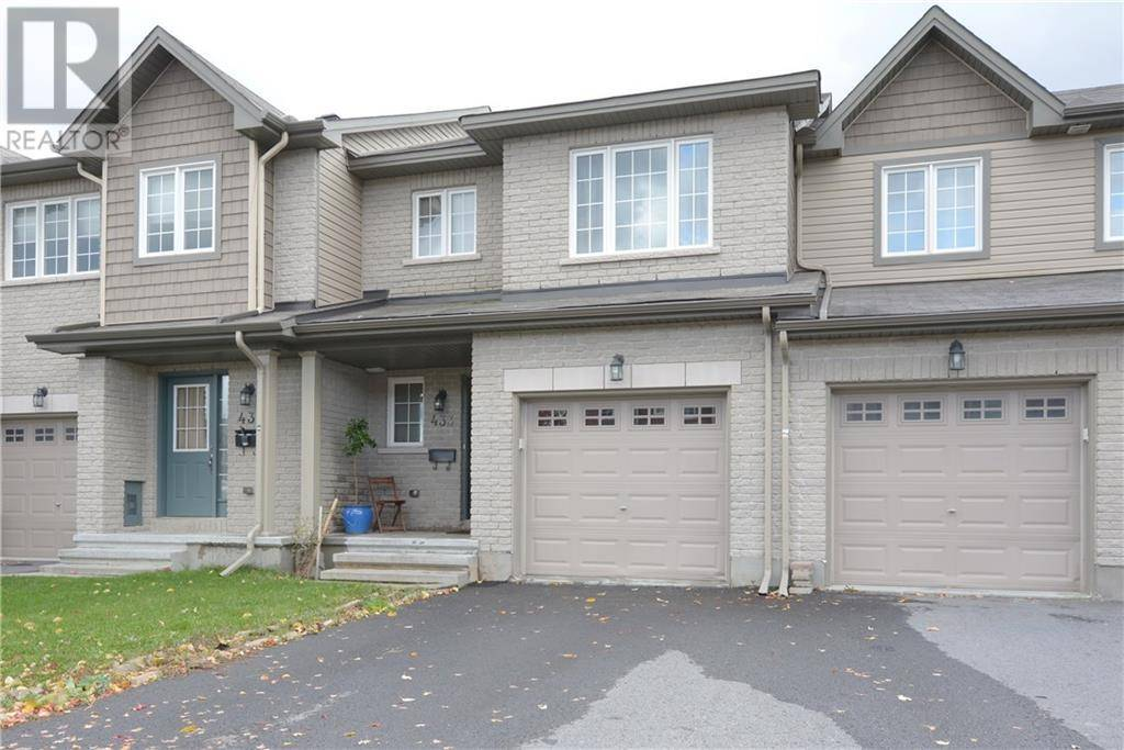 Townhouse for sale at 433 Haresfield Ct Ottawa Ontario - MLS: 1173482
