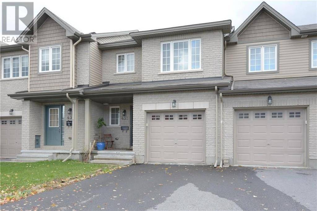 Townhouse for sale at 433 Haresfield Ct Ottawa Ontario - MLS: 1175598