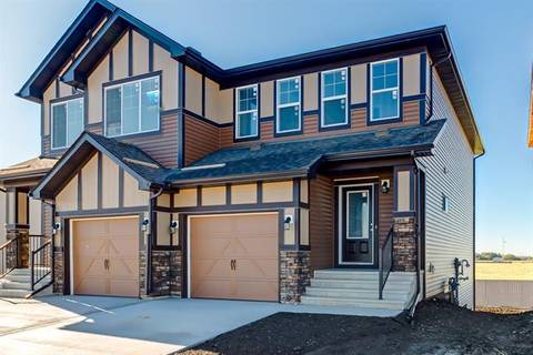 Townhouse for sale at 433 Hillcrest Rd Southwest Airdrie Alberta - MLS: C4266121