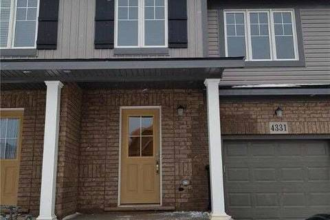 Townhouse for sale at 4331 Eclipse Wy Niagara Falls Ontario - MLS: X4714660