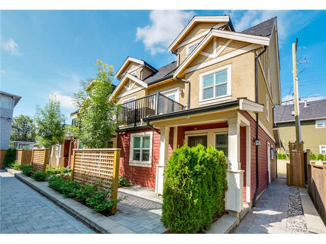 For Sale: 4331 Knight Street, Vancouver, BC   3 Bed, 2 Bath Townhouse for $999,000. See 18 photos!