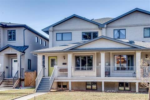 Townhouse for sale at 4337 2 St Northwest Calgary Alberta - MLS: C4289201