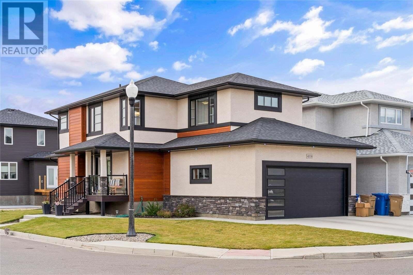 House for sale at 4338 Albulet Dr Regina Saskatchewan - MLS: SK826927