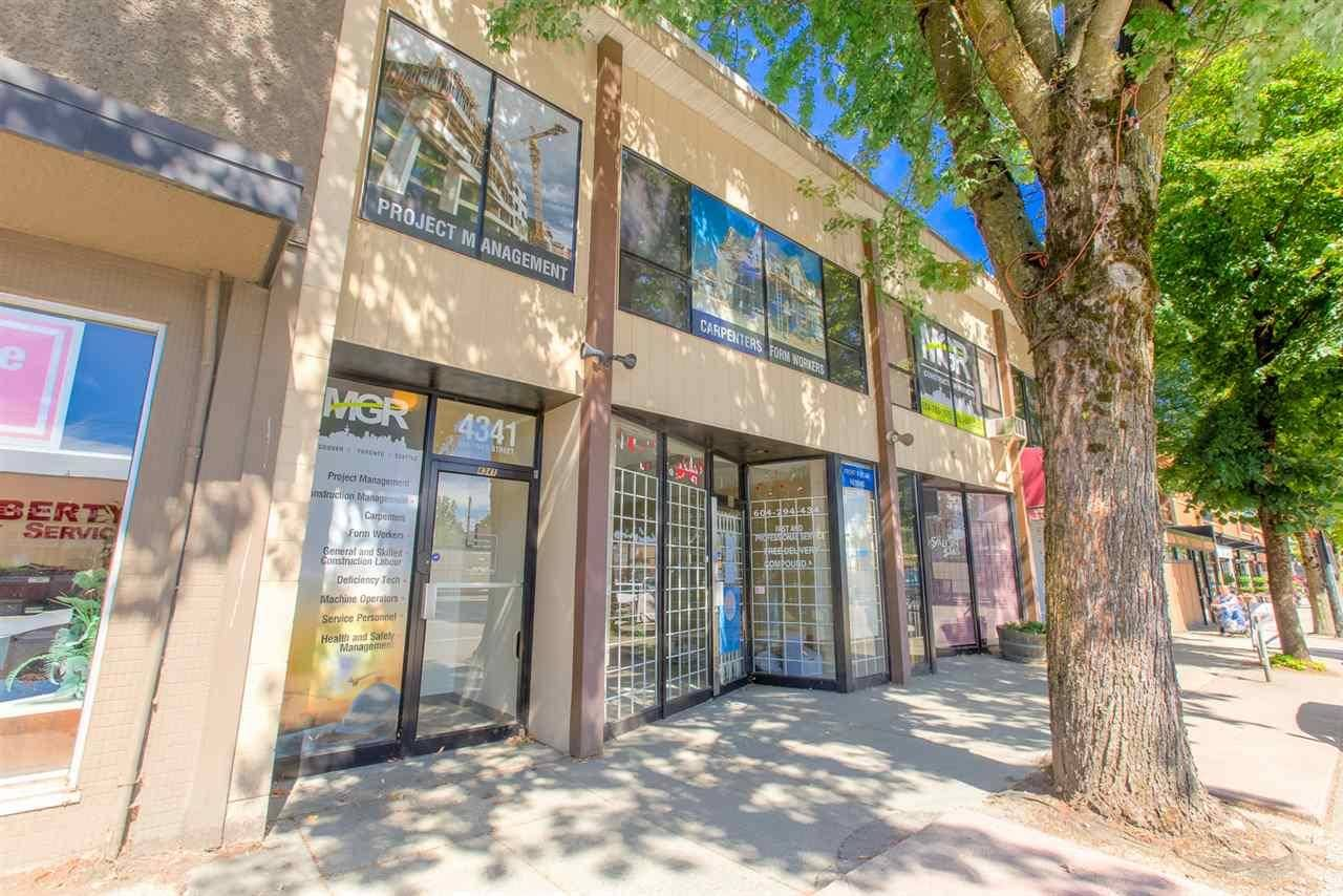 Commercial property for lease at 4341 Hastings St Burnaby British Columbia - MLS: C8027545