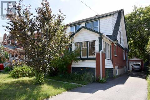 House for sale at 435 First Ave East North Bay Ontario - MLS: 181278