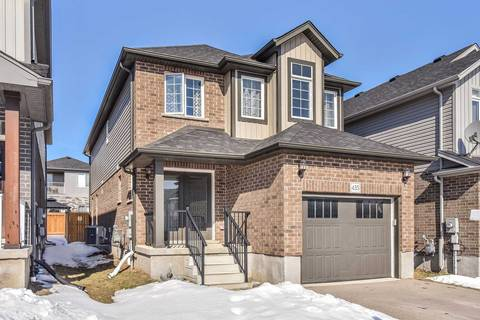 House for sale at 435 Moorlands Cres Kitchener Ontario - MLS: X4723909