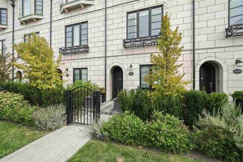 Townhouse for sale at 4354 Knight St Vancouver British Columbia - MLS: R2495866