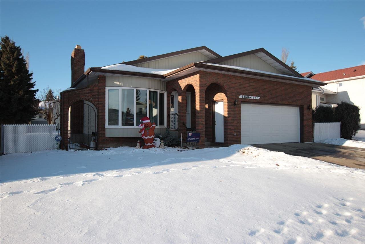 House for sale at 4356 147 St NW Edmonton Alberta - MLS: E4223473
