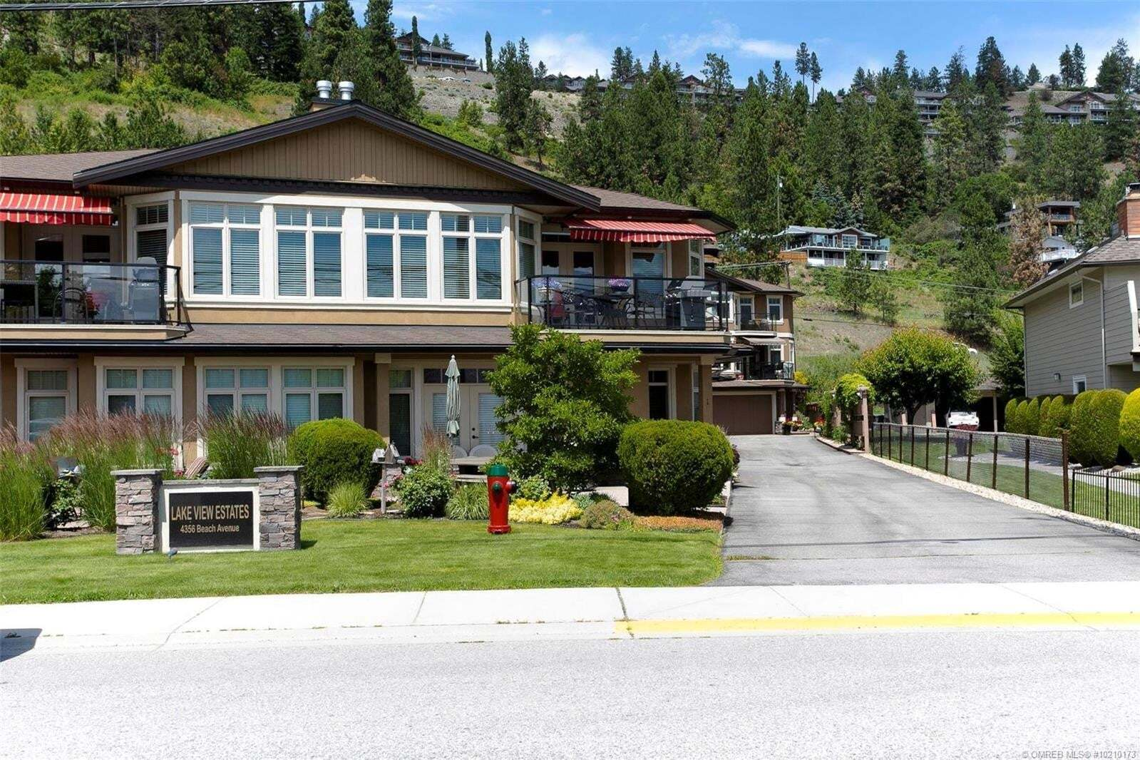 Townhouse for sale at 4356 Beach Ave Peachland British Columbia - MLS: 10210173