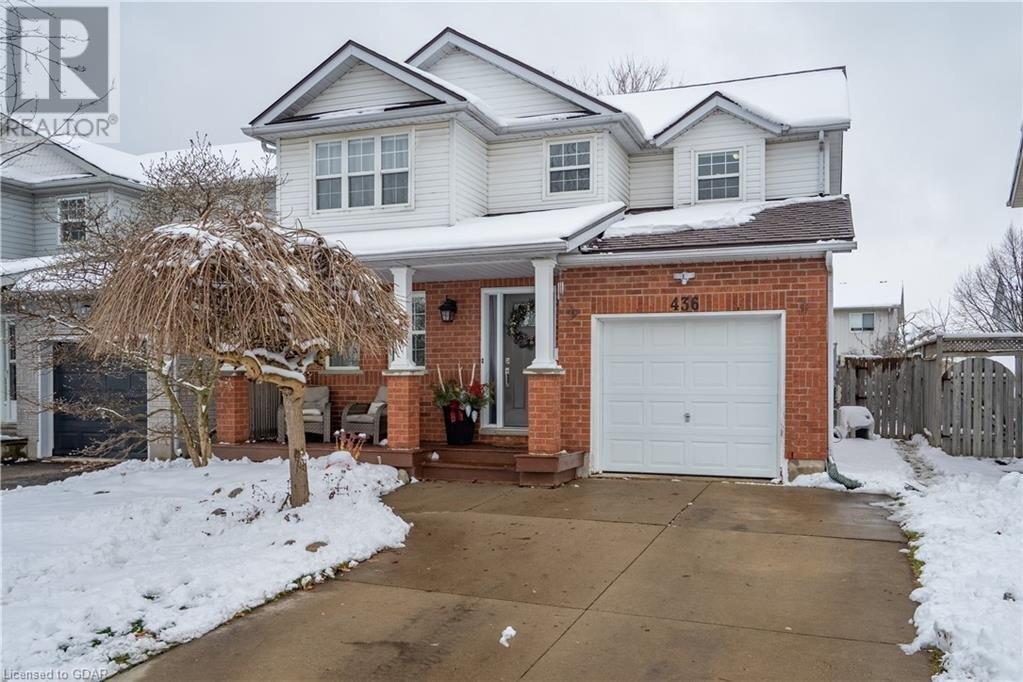 House for sale at 436 Millburn Blvd Fergus Ontario - MLS: 40047330