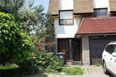 Townhouse for sale at 4360 Brandon Gt Mississauga Ontario - MLS: W4513052