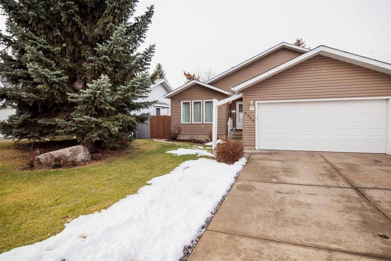 House for sale at 4368 33 St Nw Edmonton Alberta - MLS: E4175789