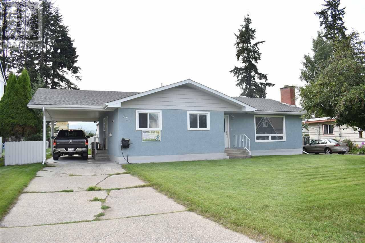 House for sale at 437 Callanan St Quesnel British Columbia - MLS: R2393634