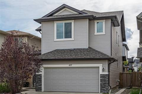 House for sale at 437 Cimarron Blvd Okotoks Alberta - MLS: C4281428